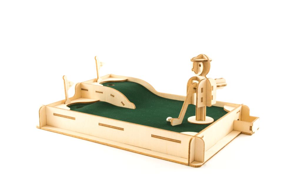 Desktop Golf Ki Gu Mi Fsc Certified 3d Wooden Puzzle
