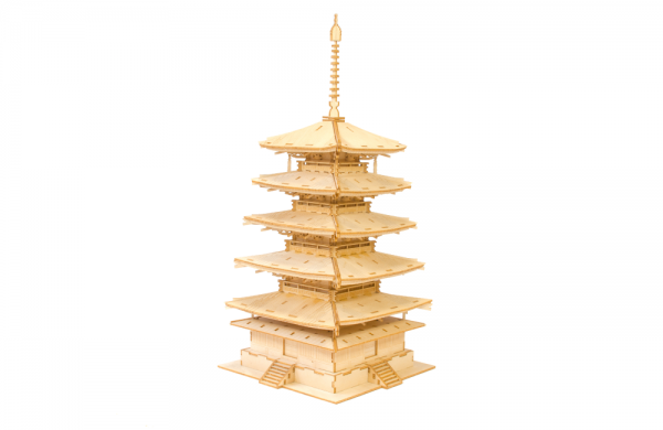 Kigumi 5 story pagoda